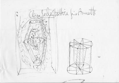 KatrinEissing Skulpturskizze1986